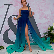 Kimberley Garner arrives at V&A - summer party, on 19 June 2019, London, UK