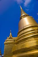 Phra Siratana Chedi, Grand Palace, Bangkok, Thailand
