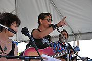 Linda Chorney concert at 2013 Tucson Folk Festival.