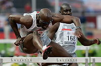 110m Huerden Lauefer Allen Johnson © Manu Friederich/EQ Images