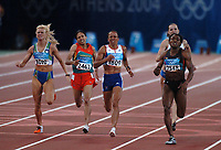 Kelly Holmes (GBR,1809) wins the Womens 800m Final . Atheletics, 23/08/2004. Credit: Colorsport / Matthew Impey DIGITAL FILE ONLY