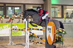 Caers Renée, BEL, Manfred<br /> Nationaal Indoorkampioenschap  <br /> Oud-Heverlee 2020<br /> © Hippo Foto - Dirk Caremans