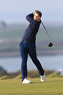 Jack Tuohy (Galway Bay) on the 1st tee during Round 3 of The West of Ireland Open Championship in Co. Sligo Golf Club, Rosses Point, Sligo on Saturday 6th April 2019.<br /> Picture:  Thos Caffrey / www.golffile.ie