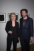 NINA MAE FOWLER, CRAIG WYLIE,  opening party for the unveiling Nina Mae Fowler's new commission of portraits of British Film Directors, National Portrait gallery, London, The event  organised by The Cob Gallery, London 11 April 2019