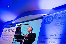 Marc Audrit at sports marketing and sponsorship conference Sporto 2013, on November 21, 2013 in Hotel Slovenija, Congress centre, Portoroz / Portorose, Slovenia. Photo by Vid Ponikvar / Sportida
