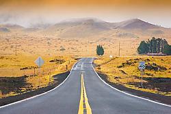Mauna Kea Road, Big Island, Hawaii