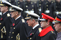 Prince Andrew Duke Of York; Prince Philip Duke Of Edinburgh; Charles Prince of Wales; Prince Edward Earl of Wessex Remembrance Sunday - Cenotaph Service, Whitehall, London, UK, 14 November 2010:  Contact: Ian@Piqtured.com +44(0)791 626 2580 (Picture by Richard Goldschmidt)