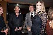 matthew freud; TONY BLAIR; DAVID WALLIAMS; LARA STONE, Chinese New Year dinner given by Sir David Tang. China Tang. Park Lane. London. 4 February 2013.