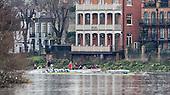 20161212 CUBC and CUWBC Trial Eights, Putney-Mortlake. London UK.