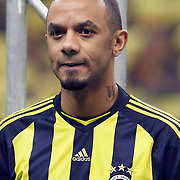Fenerbahce's Cristian Oliveira BARONI during their Turkish superleague soccer derby match Galatasaray between Fenerbahce at the Turk Telekom Arena in Istanbul Turkey on Friday, 18 March 2011. Photo by TURKPIX