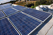 Israel, Solar panels on the roof of a private home, supply all the electricity the family needs. The use of Solar energy by the private sectors is increasing in Israel due to high cost of electricity and environment awareness.