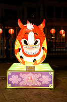 Horse Lantern at Chinese New Year