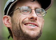 Brett Maune after winning the Barkley Marathons.