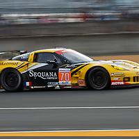 #70 Chevrolet Corvette C6 ZR1, Larbre Competition, Drivers: Christophe Bourret, Pascal Gibon, Jean-Philippe Belloc, Le Mans 24H 2012