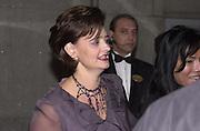 Cherie Blair. ICMEC Gala launch. Savoy. 5 October 2000.  © Copyright Photograph by Dafydd Jones 66 Stockwell Park Rd. London SW9 0DA Tel 020 7733 0108 www.dafjones.com
