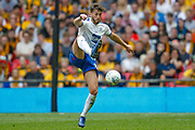 Tranmere Rovers midfielder Oliver Banks (28) controls the ball during the EFL Sky Bet League 2 Play Off Final match between Newport County and Tranmere Rovers at Wembley Stadium, London, England on 25 May 2019.