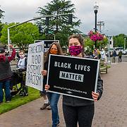 Black Lives Matter to Beaverton rally