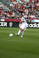 August 4, 2012: Real Salt Lake midfielder Kyle Beckerman (5) moves the ball in the first half against the Colorado Rapids at Dick's Sporting Goods Park in Denver, Colorado
