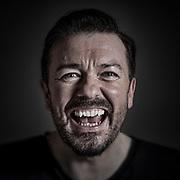 Ricky Gervais Portrait