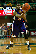 WACO, TX - DECEMBER 18: Tyler Washington #2 of the Northwestern State Demons passes the ball against the Baylor Bears on December 18 at the Ferrell Center in Waco, Texas.  (Photo by Cooper Neill/Getty Images) *** Local Caption *** Tyler Washington