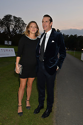 BEN & MARY CLARE ELLIOT at the Chovgan Twilight Polo Gala in association with the PNN Group held at Ham Polo Club, Petersham Close, Richmond, Surrey on 10th September 2014.