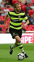 Celtic FC vs Al Ahly Wembley Cup 24/07/09<br /> Photo Nicky Hayes/Fotosports International<br /> Celtic defender Andreas Hinkel in action.