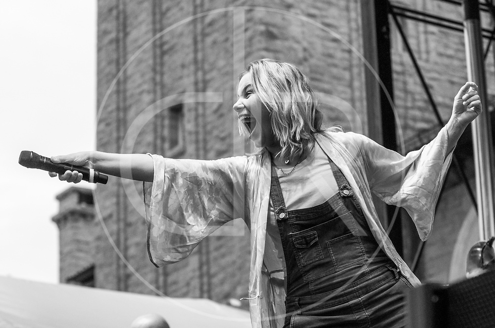 BALTIMORE United States - July 19, 2014: Maggie Koerner performs on the Wells Fargo Stage at Artscape, located in Baltimore's Mount Royal Cultural Corridor