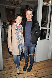 NICK GRIMSHAW and ? at a party to celebrate the 1st anniversary of Alice Temperley's label held at Paradise, Kensal Green, London W10 on 25th November 2010.