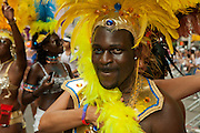 Caribbean performers in the 2011 Pride Parade on New York's Fifth Avenue.