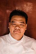 Chef Luu Meng at restaurant Malis, Phnom Penh
