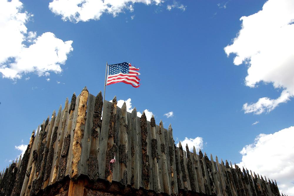 US-NEVADA: A fort..PHOTO GERRIT DE HEUS