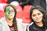 Brazilian fans  during the International Friendly match between England and Brazil at Wembley Stadium, London, England on 14 November 2017. Photo by Sebastian Frej.