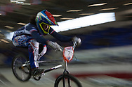 #7 (VALENTINO Manon) FRA at the UCI BMX Supercross World Cup in Manchester, UK