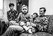 Family, Vukovar, easternmost edge of Croatia,1998