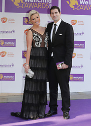 Salman Rushdie's son Zafar Rushdie and his wife Natalie Coyle attending the annual WellChild Awards at The Dorchester Hotel, London.