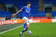 Cardiff City's Perry Ng (38) in action during the EFL Sky Bet Championship match between Cardiff City and Millwall at the Cardiff City Stadium, Cardiff, Wales on 30 January 2021.