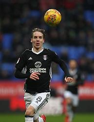 Stefan Johansen of Fulham in action - Mandatory by-line: Jack Phillips/JMP - 10/02/2018 - FOOTBALL - Macron Stadium - Bolton, England - Bolton Wanderers v Fulham - English Football League Championship