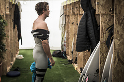 October 25, 2017 - Julian Wilson (AUS) runner up of the Meo Rip Curl Pro 2017, Peniche, Portugal..MEO Rip Curl Pro Portugal 2017, Oeste Subregion, Portugal - 25 Oct 2017 (Credit Image: © Rex Shutterstock via ZUMA Press)