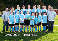 Inter Lakes Youth Soccer League Hart's Team October 15, 2011.