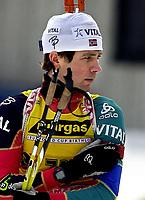 Skiskyting, 12. desember 2003, Ole Einar Bjørndalen, Norge Biathlon Norwegen<br /> Weltcup Hochfilzen