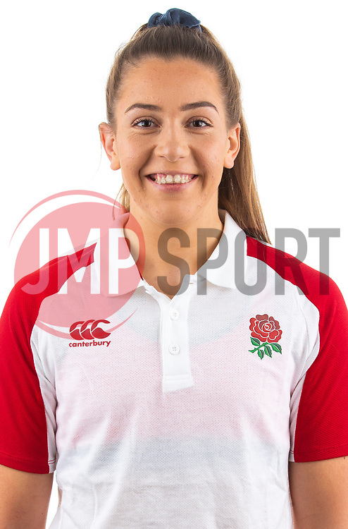 Holly Aitchison of England Rugby 7s - Mandatory by-line: Robbie Stephenson/JMP - 17/09/2019 - RUGBY - The Lansbury - London, England - England Rugby 7s Headshots