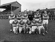 Cork Hibs Vs Jacobs. .1961..11.03.1961..03.11.1961..11th March 1961..The FAI Cup second round saw cork Hibernians pitted against  Jacobs works team at Rutland Avenue, Dublin.