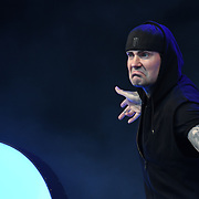 BOYZONE - Shane Lynch perform live at Kew The Music Festival 2018 on 14 July 2018, London, UK.