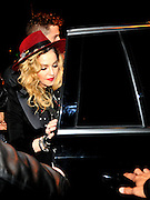 BARCELONA, SPAIN, 2015, NOVEMBER 26 <br /> <br /> Madonna in Barcelona enjoying family night. With their children and the team of her tour, the artist enjoyed an evening at a cocktail bar in  Barcelona. <br /> ©Exclusivepix Media