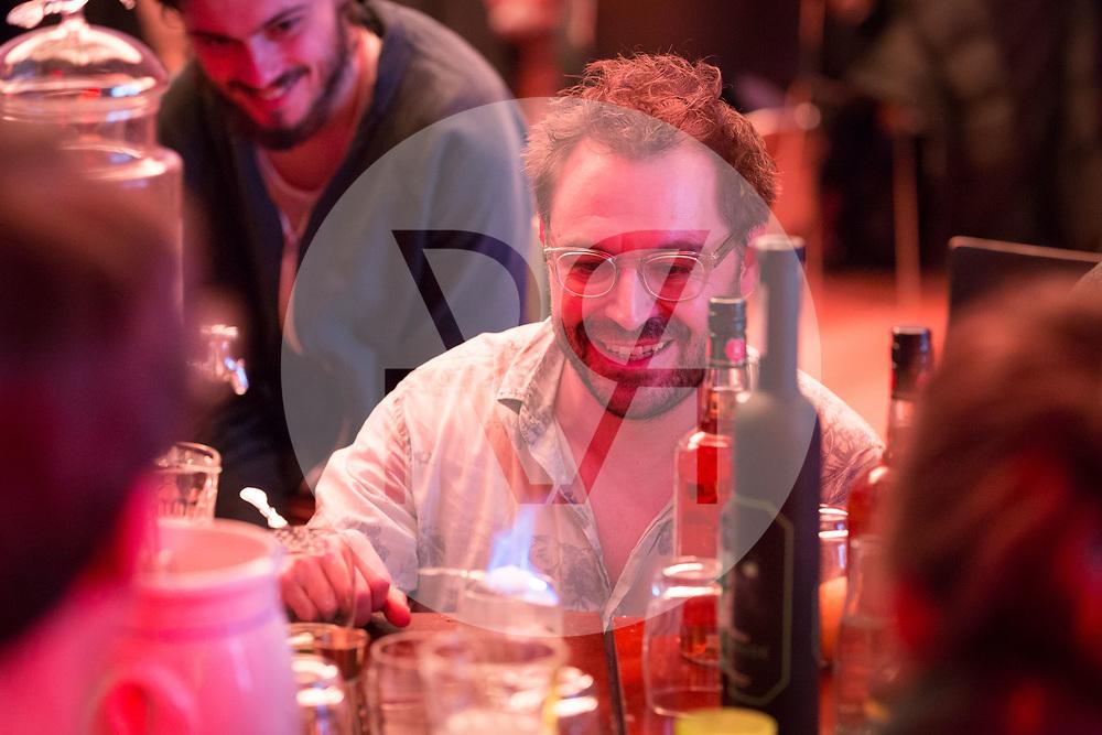 SCHWEIZ - ZÜRICH - Matthias Wittmann, Seminar für Medienwissenschaft, Universität Basel; am science+fiction bei Karl: Rauschlabor - Drinks und Debatten, im Karl der Grosse - 22. März 2018 © Raphael Hünerfauth - http://huenerfauth.ch