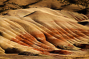 Colors of the Painted Hills in central Oregon