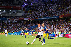 June 24, 2018 - Adler, Russia - 180624 Joshua Kimmich of Germany and Ludwig Augustinsson of Sweden during the FIFA World Cup group stage match between Germany and Sweden on June 24, 2018 in Adler..Photo: Petter Arvidson / BILDBYRÃ…N / kod PA / 87728 (Credit Image: © Petter Arvidson/Bildbyran via ZUMA Press)