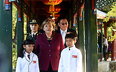 German Chancellor Angela Merkel Visits China