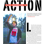 Alec Loorz, an teenage environmental activist from Ventura, Ca, launched the non-profit Kids vs Global Warming.