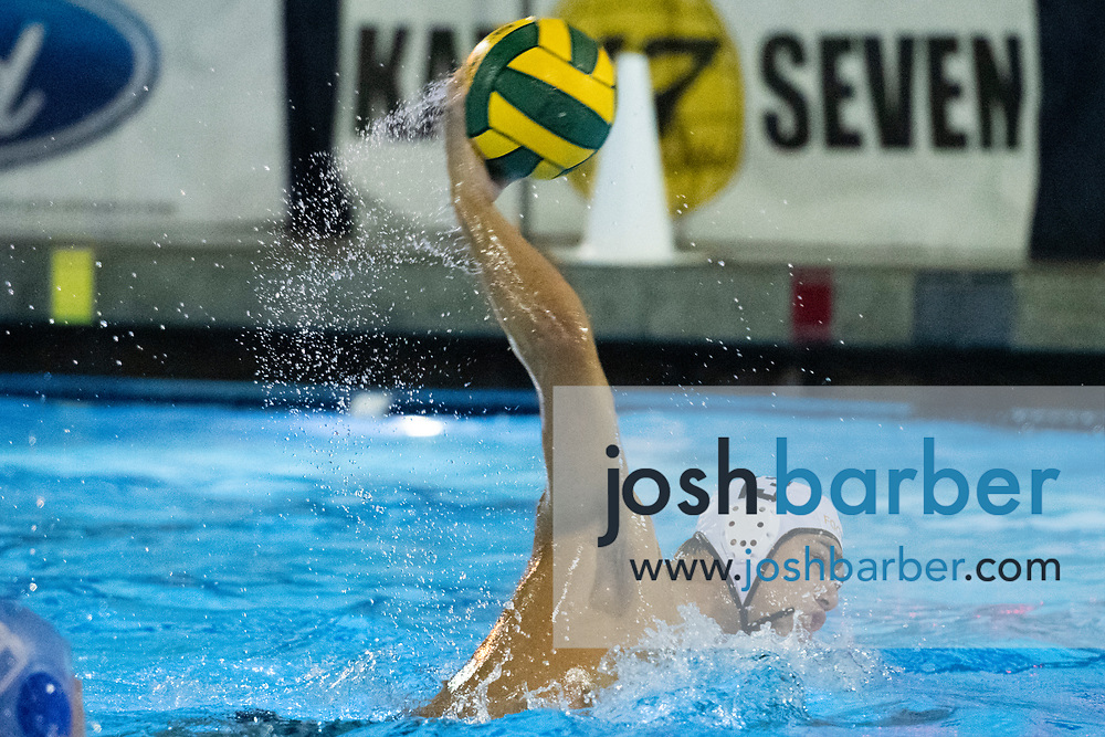 Foothill's Whittaker Worland during a CIF-SS Division 2 Semifinal at William Woollett Jr. Aquatic Center on Wednesday, November 7, 2018 in Irvine, California. (Photo/Josh Barber)